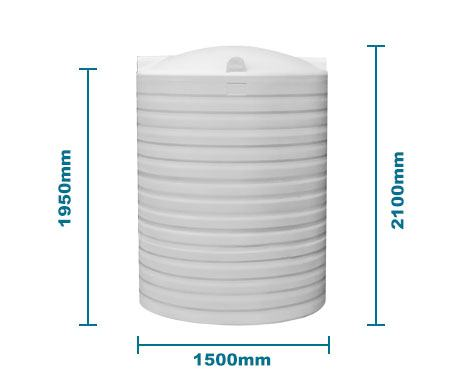 Bp3000L Water Tank In White