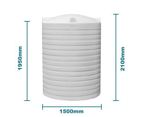 Bp3000L Water Tank In White