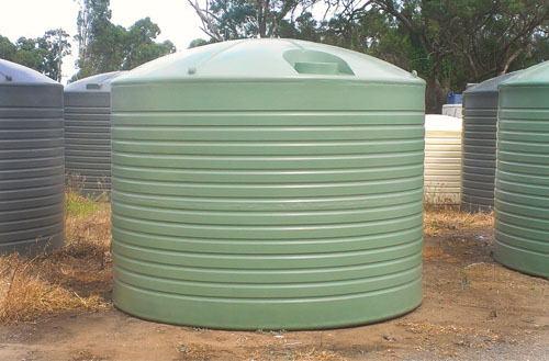 Round Rain Water Tanks Newcastle